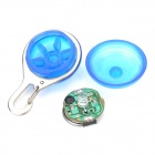 Seguridad 3-Mode azul LED Clip-On Collar colgante collar de luz - Azul