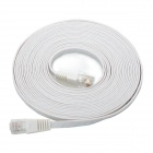 Cable de red macho a macho RJ45 - Blanco (5m)