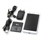 "LG P880 Optimus 4X HD Android 4.0 WCDMA Bar Phone w/ 4.7"" Capacitive Screen, Wi-Fi and GPS - White"