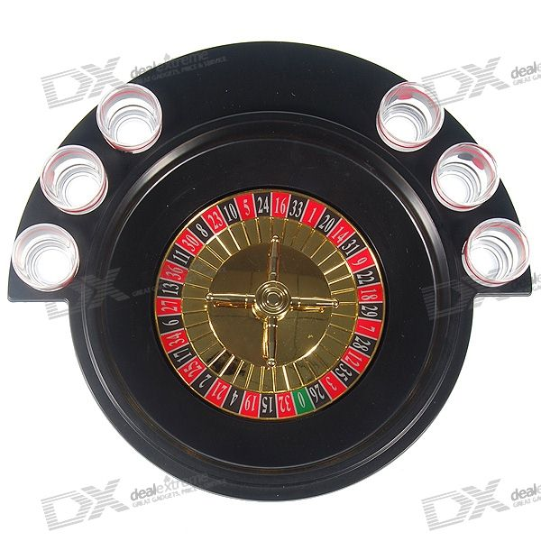 Buy Lucky Shot Drinking Roulette Game (6-Cup Set) with Litecoins with Free Shipping on Gipsybee.com