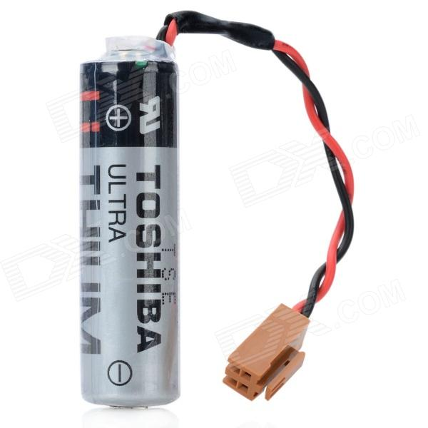 Buy TOSHIBA ER6V/3.6V 2400mAh Lithium PLC Industrial Battery w/ Plug with Litecoins with Free Shipping on Gipsybee.com