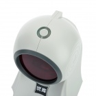 Cable USB 24 Laser Barcode Scanner omnidireccional - gris