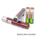 1mW Green Laser Pen Style Pointer - Dark Red (2 x AAA)