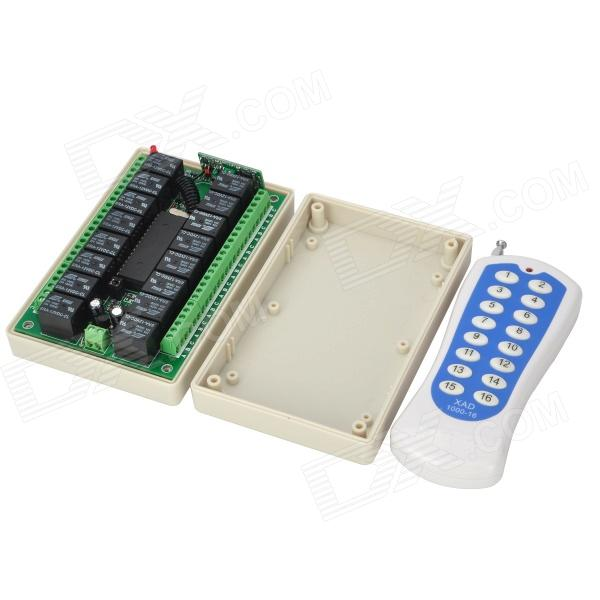 12V 16-Channel Wireless Remote Controller Switch KitOther Accessories<br>Form  ColorWhitePacking List<br>