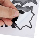 Special Decorative 6-Bullet Hole Style Car Sticker - Grey