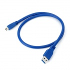 USB 3.0 Man till 10 Pin Mini USB Manlig Kabel - Blå (50cm)