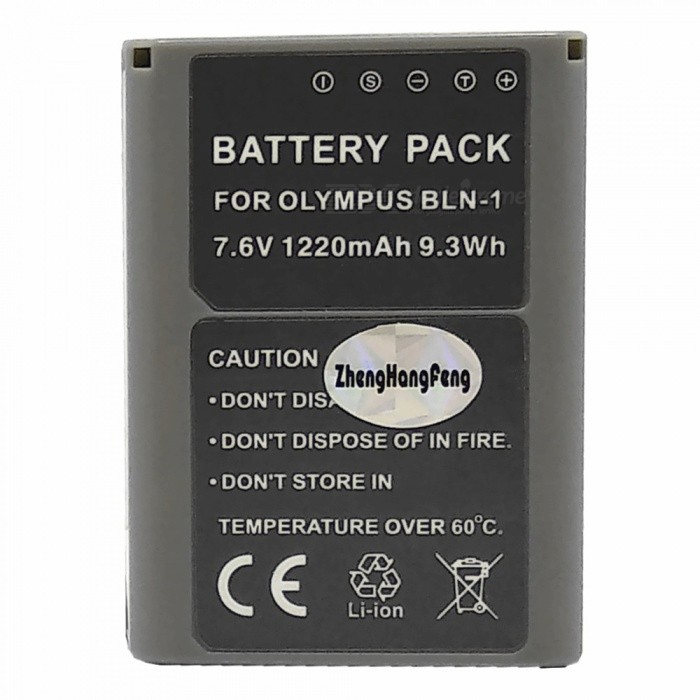 Replacement 7.4V 1220mAh Battery Pack for Olympus OM-D E-M5 / EM5