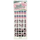 GR-057 3D Break Line mönster Glitter Nail Stickers (30 St)