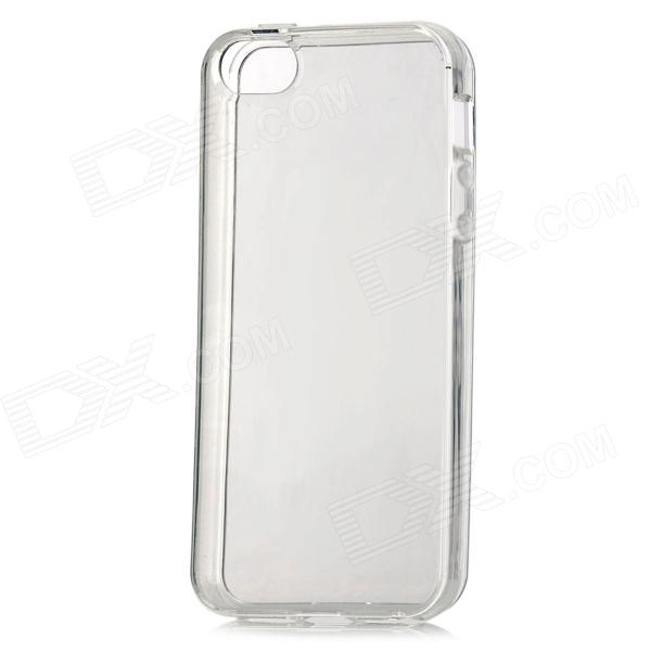 Protective TPU Back Case Cover for IPHONE 5 - Transparent