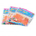 Magic Crystal Mud Soil Water Beads for Flower Planting - Orange (3-Pack)