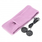 Knitting Cotton Music Sleeping Headphones - Violet