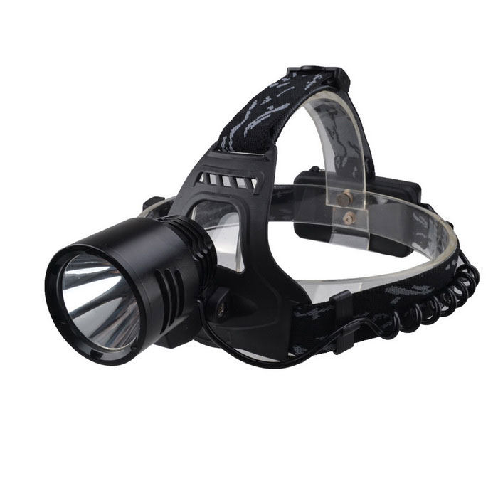 SingFire SF-520 900lm 3-Mode White Light Headlamp - Black (2*18650)