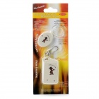Wireless Anti-Lost Alarm Device Set - White (1 x AAA /1 x CR2032)