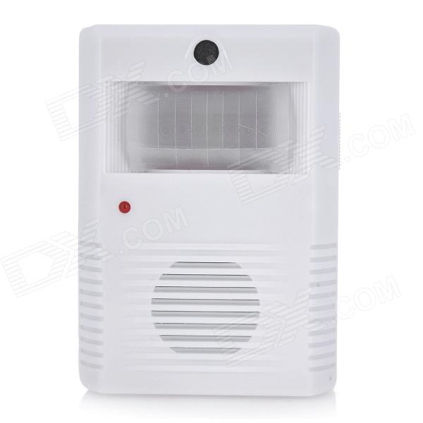 Automatic Infrared Sensor Visitor Welcoming Door Chime - White (3 x AAA)