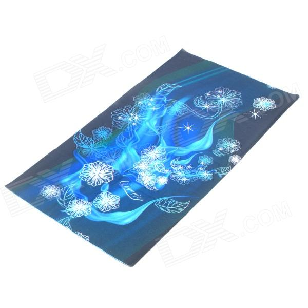 Buy Outdoor Sports Bicycle Cycling Seamless Head Scarf - Blue + Black with Litecoins with Free Shipping on Gipsybee.com