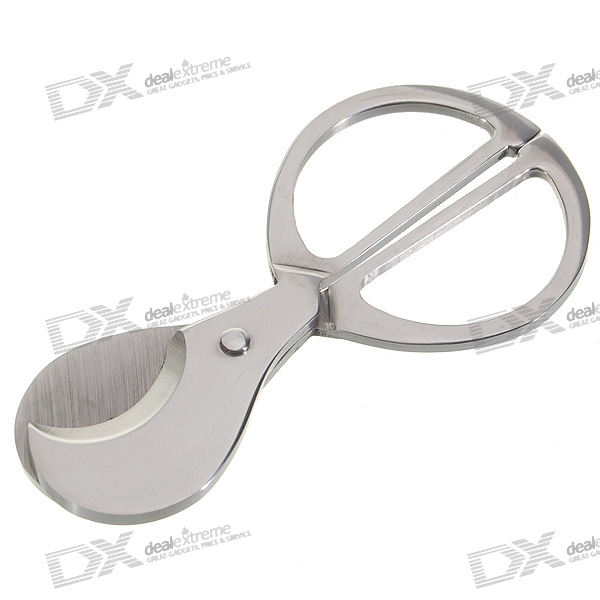 Stainless Steel Cigar Cutter/Scissors for sale in Bitcoin, Litecoin, Ethereum, Bitcoin Cash with the best price and Free Shipping on Gipsybee.com