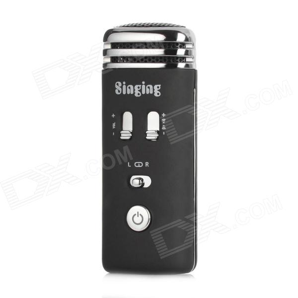 iphone karaoke microphone singing mini karaoke condenser microphone for iphone 5 1159