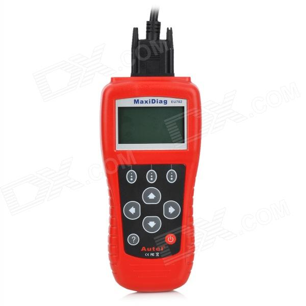 "MaxiScan EU702 2.8"" LCD Code Scanner Reader Diagnostic Tool for Benz / Volvo / BMW - Red"