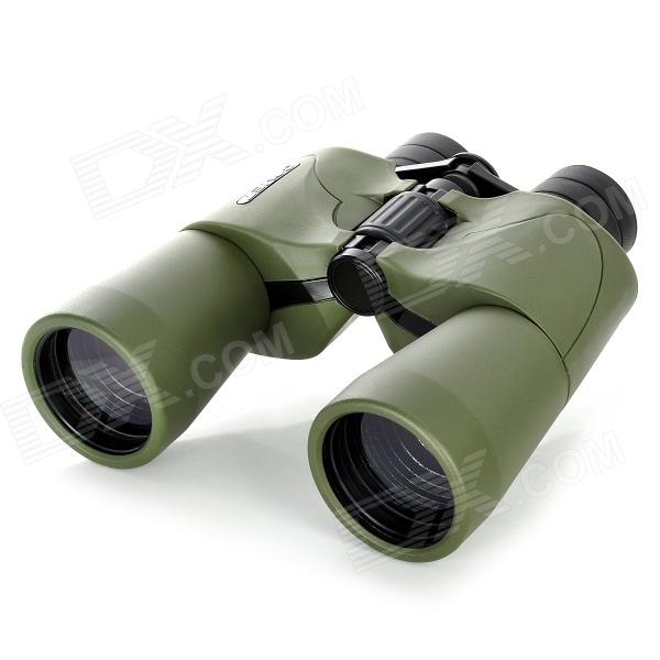 COMET 10X 50mm Binoculars w/ Nylon Bag - Army Green