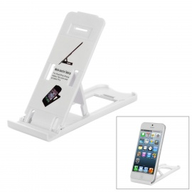Portable 5-Level Stand Holder for Ipad / Iphone / Ipod / Samsung Cellphone / Tablet PC - White