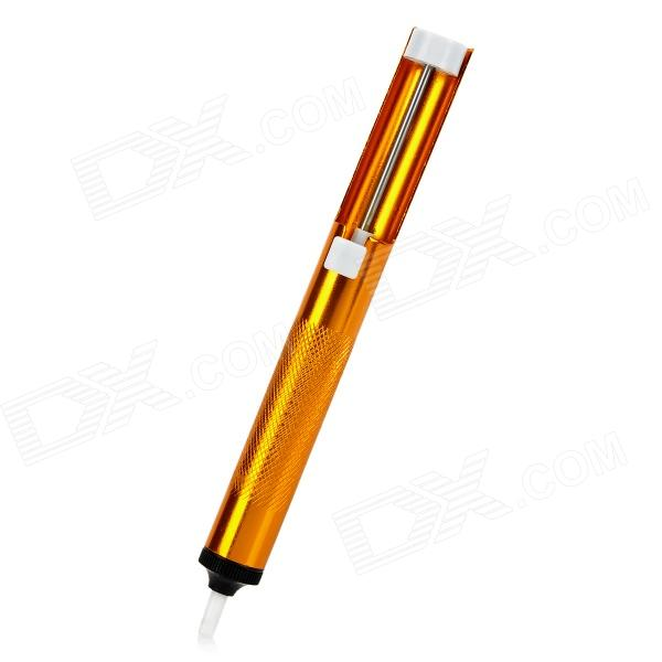 Buy LL-135A Vacuum Desoldering Pump Removal Solder Sucker - Orange with Litecoins with Free Shipping on Gipsybee.com