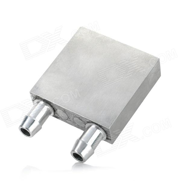 Aluminum Water Block Thermoelectric Cooling Module - Silver