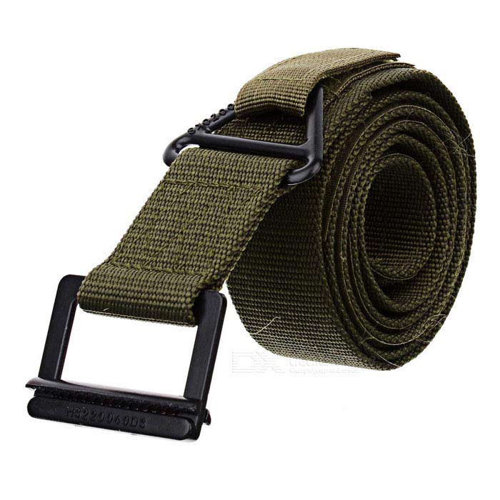 Free Soldier Outdoor Tactical Rescue Waist Belt - Army Green (Size L / 127cm)Other Accessories<br>BrandFree SoldierQuantity1ColorArmyForm  ColorBlackMaterialRibbonStrapSizeSOther FeaturesWidthPacking List<br>