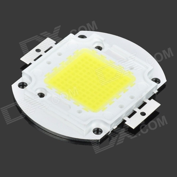 Buy JR-100W-W 100W 9000LM 6500K Cold White Light 10*10 LED Module (30~36V) with Litecoins with Free Shipping on Gipsybee.com