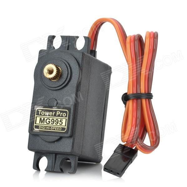 Buy MG995 Tower Pro Copper Servo Gear for R/C Car - Black with Litecoins with Free Shipping on Gipsybee.com