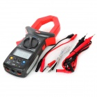 "UNI-T UT206 2,3 ""-LCD-Digital-Multimeter Clamp - Rot + Dunkelgrau (1 x 9V-Batterie)"