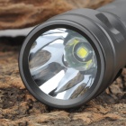 UltraFire UF-T30 2-Mode Memory White Dimming Flashlight - Dark Grey (1 x 18650)