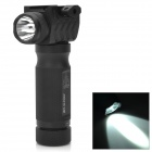 21mm Tactical Grip w / 230lm White Light LED Taskulamppu - Musta (2 x 16340)
