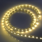 4.8W 240LM Warm White 60*SMD 3528 LED Flexible Light Strip (220V / 1m)