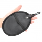 Waterproof Anti-vibration Protective Multispandex Filter / UV Lens Bag - Black (Round)