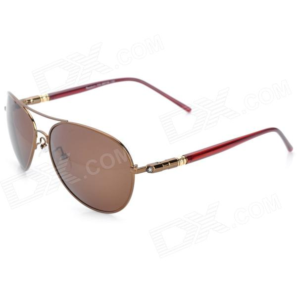 Buy ReeDoon 309 UV400 Protection Polarized Lens Sunglasses - Antique Bronze with Litecoins with Free Shipping on Gipsybee.com