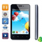 "Flying F220 Android 4.1 GSM Bar Phone w/ 4.0"" Capacitive Screen, Wi-Fi, Dual-Band and FM - Black"