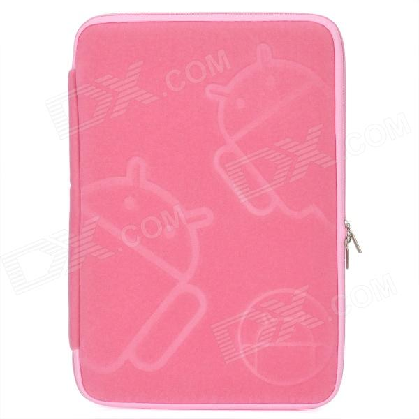 Protective | Android | Samsung | Tablet | Robot | Cloth | Pink | Bag