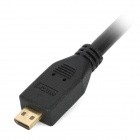 HDMI V1.4 Male to Micro HDMI Male Cable for Asus TF700 / TF300 / TF201 - Black (1.5m)