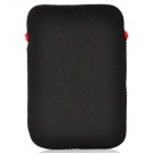 "Universal Protective Neoprene Inner Bag Pouch for Ipad MINI / 7"" Tablet PC - Black + Red"