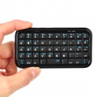 LS-BK989 Mini 49-Key Bluetooth V3.0 Keyboard for Iphone 5 - Black
