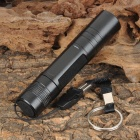 Small Sun Mini ZY-551 100lm Cold White LED Flashlight - Black (1*AA)
