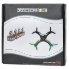 X-Power Micro Integroitu 2,4 GHz 4-CH Radio Control 4-Axis Aircraft - Musta