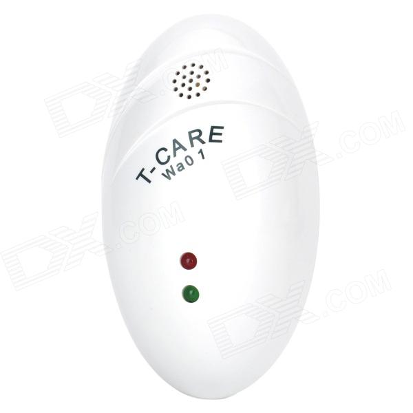 T-CARE WA01 Electronic Portable Water Leak Detector Alarm - White