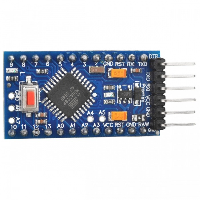 Pro Mini Microcontroller Circuit Board for Arduino (5V / 16MHz)Boards &amp; Shields<br>Form  ColorBlueEnglish Manual / SpecYesPacking List<br>