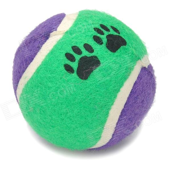 Cotton Fiber Pet Dog's Environmental Bite Resistant Tennis