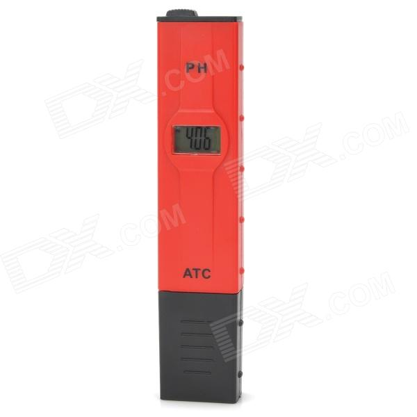 PH-2011 0.8 4-Digit LCD PH Meter Test Pen w/ Back Light (4*AG13)Testers &amp; Detectors<br>ModelPHQuantity1ColorRedForm  ColorWhiteMaterialABSFeaturesHighBattery included or notYesPacking List<br>