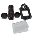 8X Mobile Phone Telescope - Black