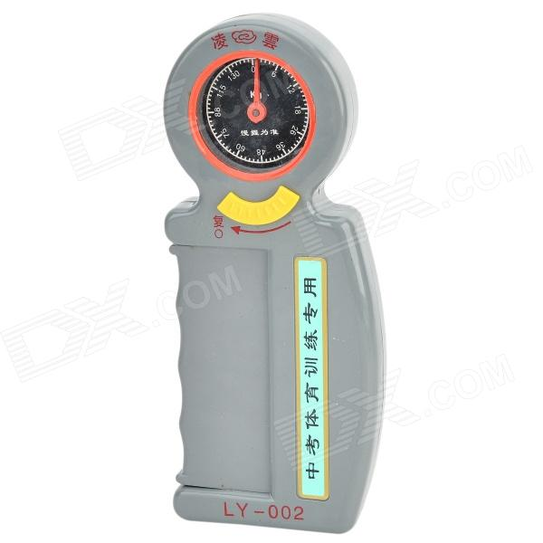 Hand Grip Power Gauge - Grey(0~130KG)