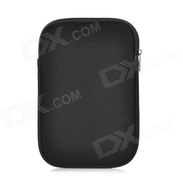 Protective Neoprene 7 Case w/ Zipper for Ipad MINI - BlackIpad Bag&amp;Pouches<br>ModelsIpadQuantity1 DX.PCM.Model.AttributeModel.UnitMaterialNeopreneCompatibleForm  ColorBlackCompatible ModelsOthers,N/ADimensions1*Piece DX.PCM.Model.AttributeModel.UnitOther FeaturesWithShade Of ColorBlackPacking List1*Piece<br>