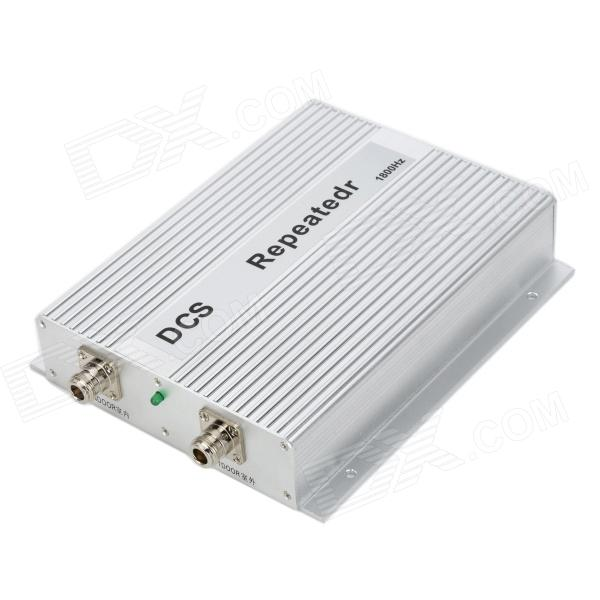 Buy DCS GSE-IFB1800 2W 1805~1880MHz / 1710~1785MHz Mobile Phone Signal Booster Repeater - Silver with Litecoins with Free Shipping on Gipsybee.com
